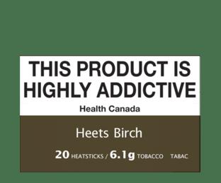 HEETS Birch Flavour