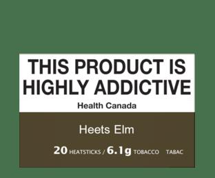 HEETS Elm Flavour