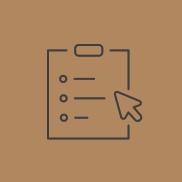 Icon for taking survey