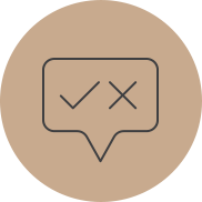 Icon for reading social media house rules