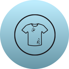 Icon for teeth and hand stains