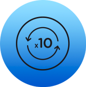 Icon for less than 10 cigarettes a day