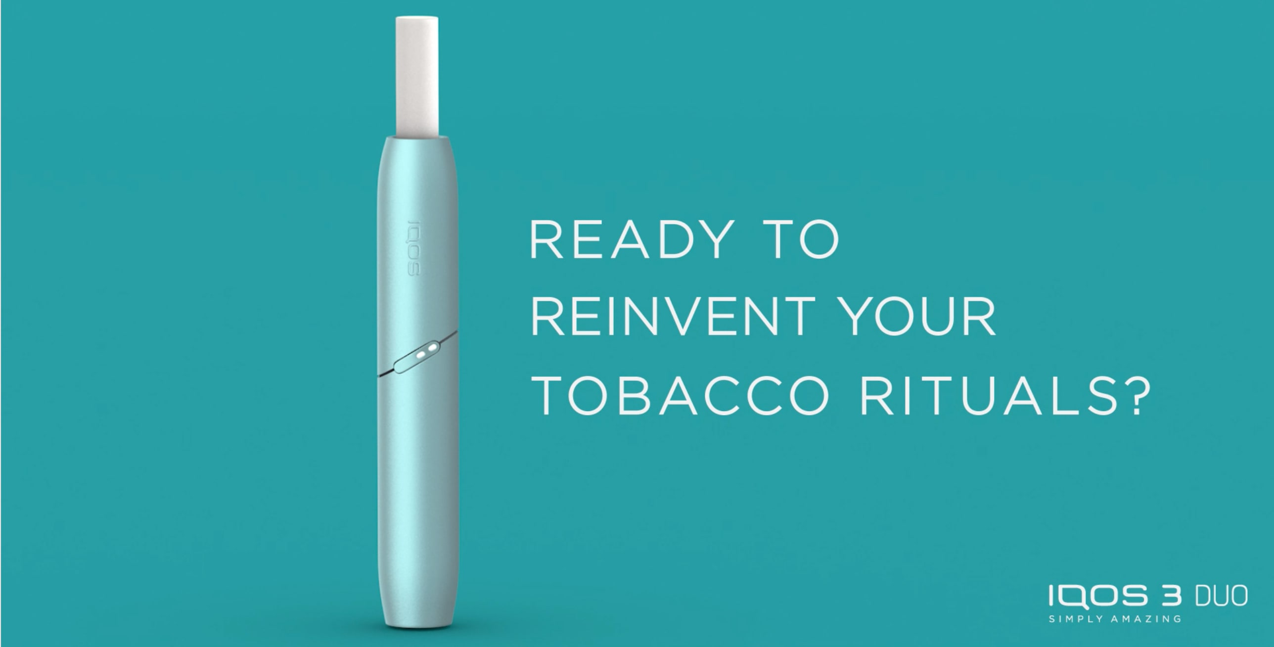 Ready to reinvent your tobacco rituals?