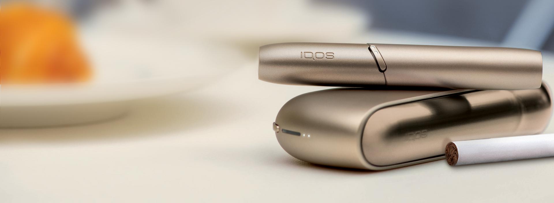 IQOS 3 DUO in Brilliant Gold