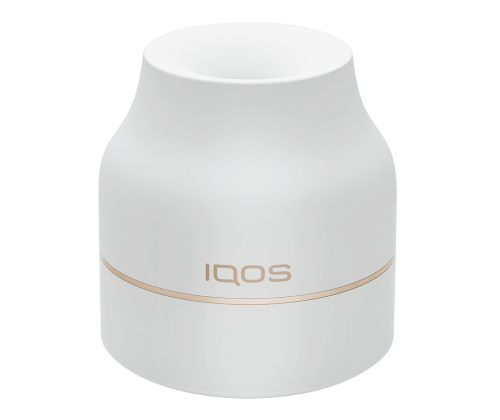 White with Gold Accent IQOS Disposable HeatStick Tray